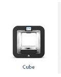 3D Systems 401734 Cube Pro Duo 3D Printer