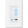 Channel Vision A0125 Cat5 Audio System Keypad Single & Multi-Source Decorator Wallplate White