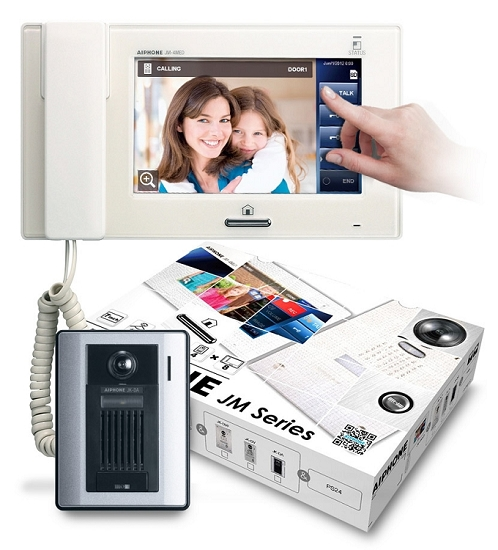 AiPhone Jms-4Aed Video Kit 7 Inch Touchscreen
