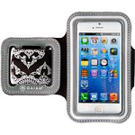 Allsop 31295 iPhone 5/5S Sports Armband Indian Border-Grey