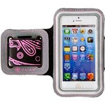 Allsop 31297 iPhone 5/5S Sports Armband Paisley-Pink