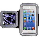 Allsop 31298 iPhone 5/5S Sports Armband Paisley-Purple