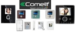 Comelit 4875-Kc Powercom Color Door Bell Expansion Doorbell Camera Kits 1 Button Sb2 Powercom Series Discontinued