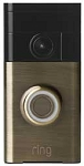 Ring 88Rg003Fc100 Video Doorbell Antique Brass