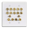 Russound Htp-2 Home Theater Gold Plates 7101-524110