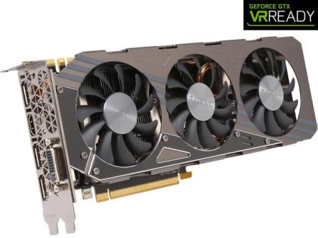 ZOTAC GeForce GTX 970 4GB AMP! Omega Core Edition