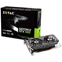 ZOTAC GeForce GTX 960 2GB GDDR5 PCI Express 3.0 HDMI DVI DisplayPort SLI Ready Graphic Card ZT-90301-10M