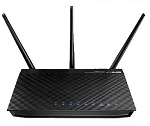 ASUS Rt-N66U 802 11N Dual Band Wireless Router 5 Ghz 2Xus