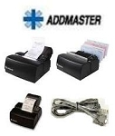 Addmaster Ij7200-1V Receipt Printer Monochrome Ink-Jet 14 Lines Sec Max Speed