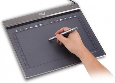 Adesso Cybertabletz12 12in Widescreen Ultra Slim USB Graphic Tablet
