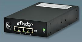Altronix Ebridge4Pcrx 4-Port Ethernet PoE Over Coax Receiver