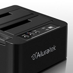 Aluratek Ahdup350F 3.5 USB 3.0 Sata HDD Enclosure