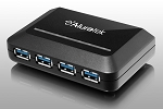 Aluratek Auh0304F 4-Port USB 3.0 Superspeed Hub