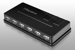 Aluratek Auh1210F 10-Port USB 2.0 Hub W-Ac Adapter