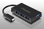 Aluratek Auhc0304F 4-Port USB 3.1 Gen Superspeed Type-C Hub