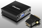 Aluratek Avh100F VGA HDMI 1080P Adapter W-Audio