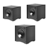 Atlantic 444Sbblk Pwr Box Subwoofer 12