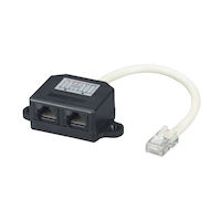 Black Box Fau962 Cat5E Cable Economizer doubler (2pack)