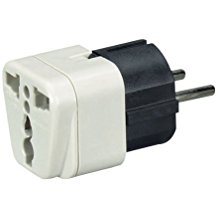 Black Box Mc167A Power Plug Adapter Us To Europe (3pack)