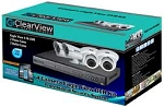 Clearview Eagleview042D2B 4 Cameras & DVR Kit