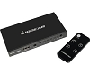IOGEAR Ghdsw4K4 4Port 4K HDMI Switch W-Remote