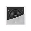 KEF CI130QS Ci Series Uniq Square Inwall/Inceiling Speaker