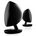 KEF EGGGBK Egg Bluetooth Digital Music Sys Gloss