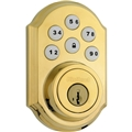 Kwikset 99100-004 Smartcode Z Wave Db Polished Brass