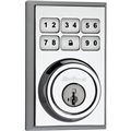 Kwikset 99100-013 Contemporary Smartcode Db Polished Chrome
