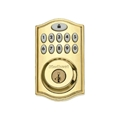 Kwikset 99140-001 914Trl Z-Wave L03Ul Lock Polished Brass