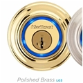 Kwikset Kevo-L03 Bluetooth Deadbolt Polished Brass