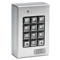 Linear 212Se Indoor Outdoor Surface-Mount Weather Resistant Keypad