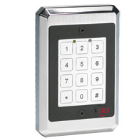Linear 232Fx Indoor Outdoor Flush-Mount Harsh Environmental Keypad