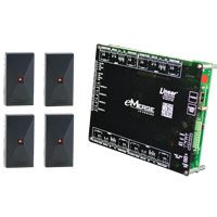 Linear Acm4Db 4-Door Acm Module 4-Reader Bundle