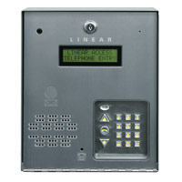 Linear Ae-100 Com Telephone Entry Sys One Gate Door