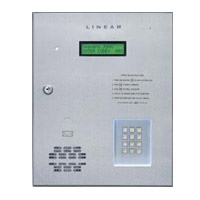 Linear Ae1000Plus Com Telephone Entry Sys Access Control Four Gates Doors