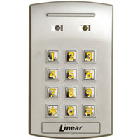 Linear Ak-31 Stand Alone Interior Flush-Mount Digital Keypad