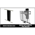 MantelMount RB100 In Wall Recess Box For Mm700 Sits 1.75