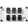On Q Legrand Ac1000 6 Port Network Interface Populated