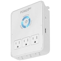 Panamax P360Dock 6 Outlet Wall Dock Usb Charging Station