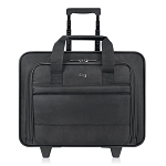 Solo B100-4 Classic Rolling Case 15.6 ' Laptop Full size front zip-down organizer section
