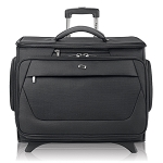 "Solo Cls920-4 Classic Rolling Catalog Case Padded compartment protects Laptops up to 15.6""."