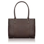 Solo Vta801-3 Executive Leather Carryall Full-grain Leather 15.6-