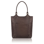 Solo Vta802-3 Executive Leather Bucket Tote Premium Leather 16