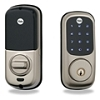 Yale S Nickel Touchscreen Lock Z-Wave 25 Users Keyed Db