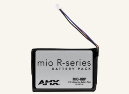AMX Fg147-10 Mio-Rbp Mio Modero Remote Rechargeable Lithium-Ion Battery