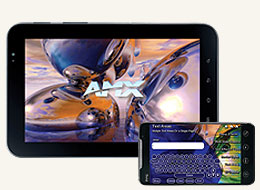 AMX Fg2263-07 Authorized Touch Panel Application Android Devices