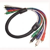 Calrad Rgb Video Cable 5 RCA M To M 55-611-Rca-50