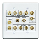 Russound Htp1 5.1 Home Theater Wall Plate