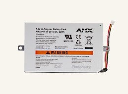AMX Fg5966-01Bat Mvp-Bp-5X Battery Pack Kit Mvp-5200 Gb